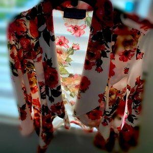 A size medium George A floral blazer